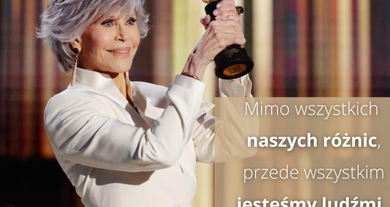 Być jak Jane Fonda – żywy przykład w zakresie ageizmu i nie tylko