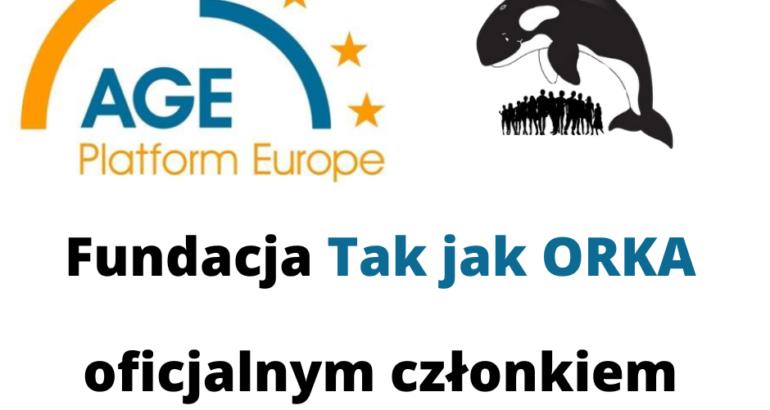 Fundacja Tak jak ORKA członkiem Age Platform Europe!